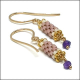 Birthstone Bits Amethyst Earrings