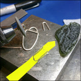 Moldavite Pendant for Asher , Necklace - No Roses Custom, No Roses Jewelry Artisan Jewelry Los Angeles - 4