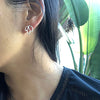 norosesjewelry.com - Los Angeles - Mini Lotus Stud Earrings