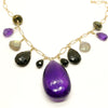 norosesjewelry.com - Los Angeles - Custom Fine Amethyst and 14k Gold Necklace for Charles
