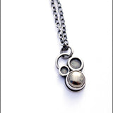 Tiny Orb Pyrite Necklace , Necklace - Erin Austin, No Roses Jewelry Artisan Jewelry Los Angeles - 3