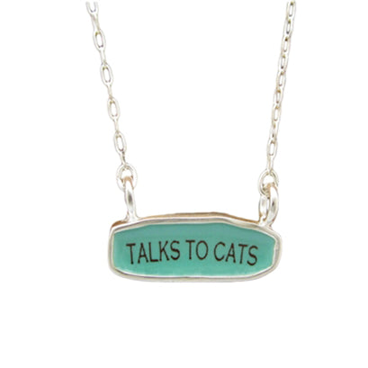 norosesjewelry.com - Los Angeles - Talks to Cats Necklace