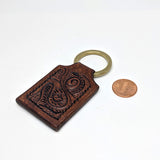Artisan Leather Key Fob, Small