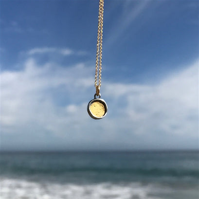 norosesjewelry.com - Los Angeles - 24K Gold and Sterling Silver Mixed Metal Necklace