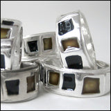 "Wedding Band ""Chicago"" , rings - Mark Poulin, No Roses Jewelry Artisan Jewelry Los Angeles - 2"