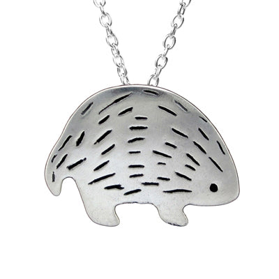 norosesjewelry.com - Los Angeles - Sterling Silver Hedgehog Pendant