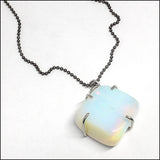 Moonstone Pendant for Ron , Necklace - No Roses Custom, No Roses Jewelry Artisan Jewelry Los Angeles - 10