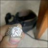 norosesjewelry.com - Los Angeles - Diamond Engagement Ring for Renee and Tom
