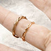 norosesjewelry.com - Los Angeles - Custom 14k Rose Gold Wedding Bands for Emily and Jeff