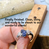 Custom Engagement Ring for Traci and Chip