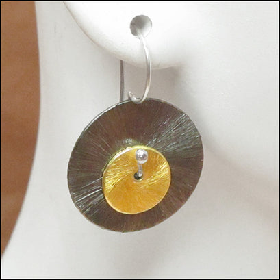 norosesjewelry.com - Los Angeles - Double Disc Earrings