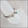 norosesjewelry.com - Los Angeles - Blue and White CZ Stacking Rings