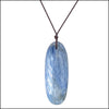 norosesjewelry.com - Los Angeles - Oval Kyanite Blue Gemstone Pendant