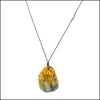 norosesjewelry.com - Los Angeles - Golden Jasper Gemstone Pendant