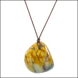 Golden Jasper Gemstone Pendant