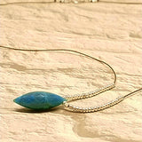 Chrysocolla Dew Drop Pendant