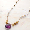 norosesjewelry.com - Los Angeles - Amy's Summer Amethyst Necklace