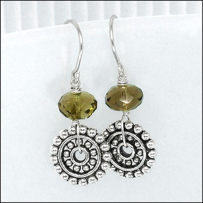 norosesjewelry.com - Los Angeles - Day 3: Smoke and Steam Gemstone Earrings