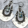 norosesjewelry.com - Los Angeles - Delta Azurite Drop Earrings