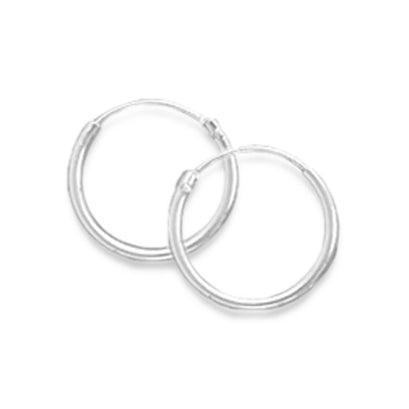 norosesjewelry.com - Los Angeles - Tiny Endless Hoop Earrings