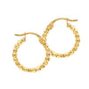 norosesjewelry.com - Los Angeles - Bubble Hoop Earrings