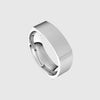 norosesjewelry.com - Los Angeles - Soft Square Men's Wedding Band