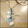 norosesjewelry.com - Los Angeles - Custom Re-Designed Pearl Necklace: Linda