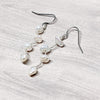 norosesjewelry.com - Los Angeles - Vines Earrings White Pearl