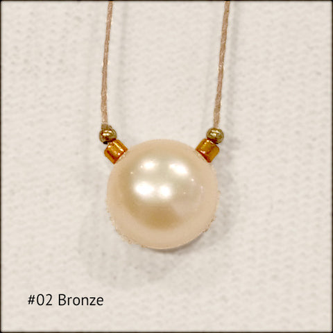 Delicate Pearl Drop Necklace , Necklace - No Roses Mad Pearls, No Roses Jewelry Artisan Jewelry Los Angeles - 1