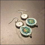 Danni Turquoise Earrings , Earrings - No Roses Metro, No Roses Jewelry Artisan Jewelry Los Angeles - 2
