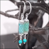 Birthstone Bits Turquoise Earrings
