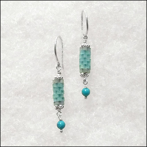 norosesjewelry.com - Los Angeles - Birthstone Bits Turquoise Earrings