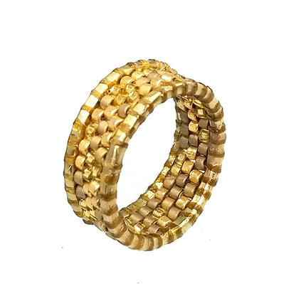 norosesjewelry.com - Los Angeles - Terrain Band Ring Gold24