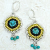 norosesjewelry.com - Los Angeles - Three Graces Turquoise Earrings