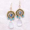 norosesjewelry.com - Los Angeles - Laguna Dawn Moonstone Earrings
