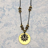 norosesjewelry.com - Los Angeles - Celestine Mixed Metals Necklace