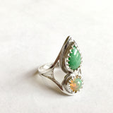 Custom Jade and Opal Engagement Ring for Pascual