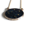 norosesjewelry.com - Los Angeles - Libra Zodiac Necklace Night Sky Pendant in Gold or Silver