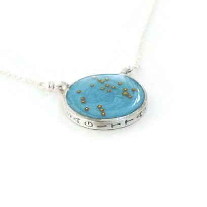 norosesjewelry.com - Los Angeles - Sagittarius Zodiac Necklace Constellation Pendant in Gold or Silver