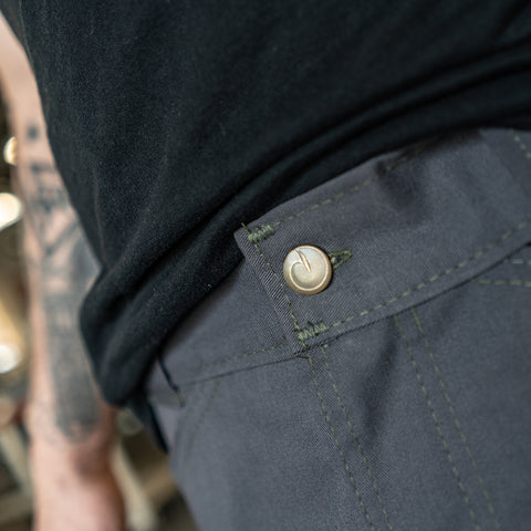 Origin Gray Sharkfin Cargo Shorts