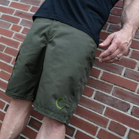 Origin Olive Sharkfin Cargo Shorts