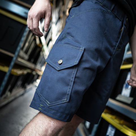 Origin Navy Sharkfin Cargo Shorts