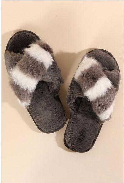 Cozy Slippers  (2 Colors)