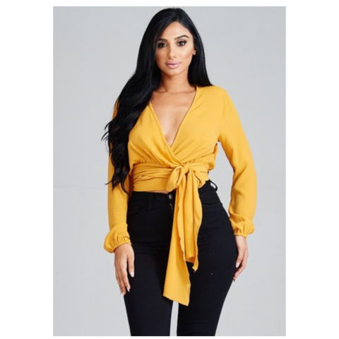 It's A Wrap Top (2 Colors)