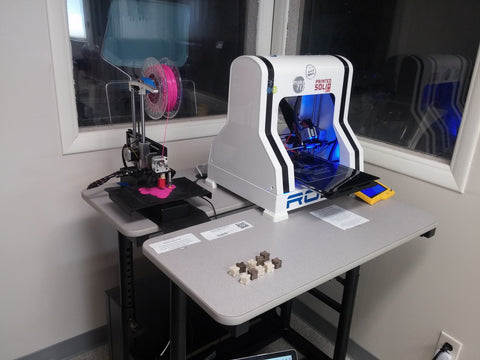 Robo3D and Printrbot Simple at Printed Solid