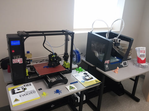 Lulzbot Taz 6 and BCN Sigma 3D Printer at Printed Solid