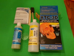 Contents of XTC-3D box