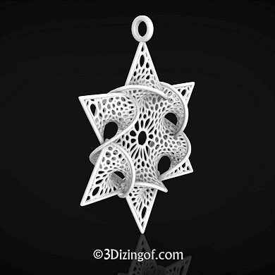 Christnuka Ornament by Dizingof available on Ponoko