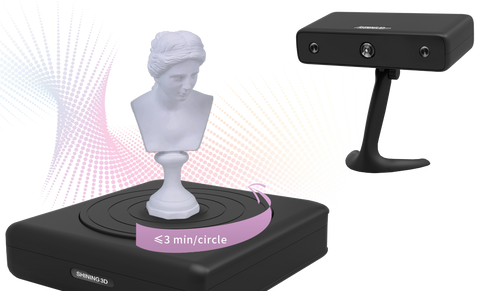 Fast and Easy 3D Scanning with the EinScan-S at Printed Solid
