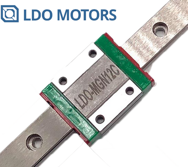 LDO Linear Rail MGN12C With One Carriage